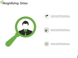 Magnifying Glass Testing L938 Ppt Powerpoint Presentation File Graphics