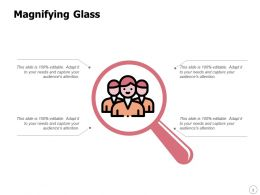 Magnifying Glass Testing Management L354 Ppt Powerpoint Presentation Images