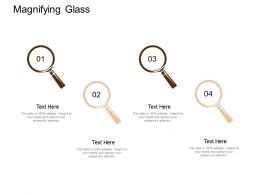 Magnifying Glass Testing Technology Ppt Powerpoint Presentation File Show