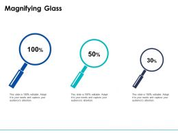 Magnifying Glass Testing Tecnology Ppt Powerpoint Presentation Slides Backgrounds