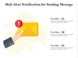 Mail Alert Notification For Sending Message