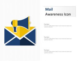 Mail Awareness Icon