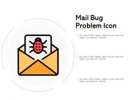 Mail Bug Problem Icon