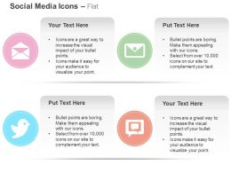 Mail Tweet Option On Web Communication Ppt Icons Graphics