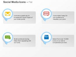 Mail Web Communication Social Media Symbols Ppt Icons Graphics