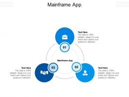 Mainframe App Ppt Powerpoint Presentation Infographic Template Professional Cpb