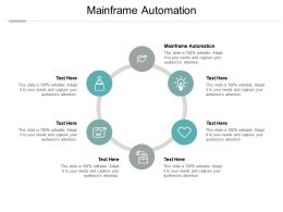 Mainframe Automation Ppt Powerpoint Presentation Slides Graphics Template Cpb