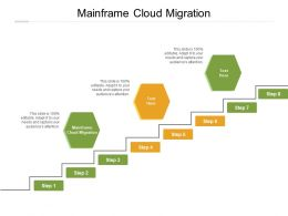 Mainframe Cloud Migration Ppt Powerpoint Presentation Ideas Graphic Images Cpb