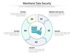 Mainframe Data Security Ppt Powerpoint Presentation Icon Design Ideas Cpb