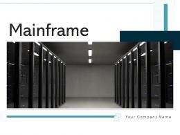 Mainframe Server Employee Communication Network Connection Database