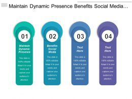 Maintain Dynamic Presence Benefits Social Media Consumer Insight