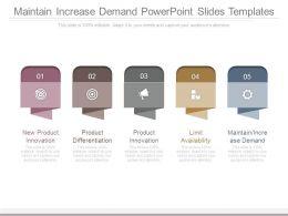 maintain_increase_demand_powerpoint_slides_templates_Slide01