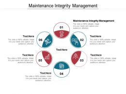 Maintenance Integrity Management Ppt Powerpoint Presentation Icon Graphic Tips Cpb