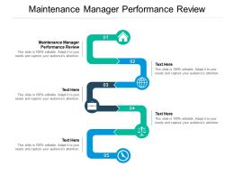 Maintenance Manager Performance Review Ppt Powerpoint Presentation Icon Inspiration Cpb