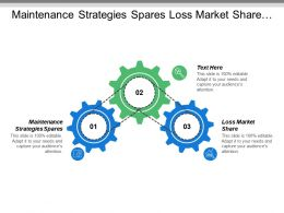 Maintenance Strategies Spares Loss Market Share Low Price
