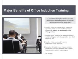 Major Benefits Of Office Induction Training