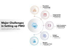 Major Challenges In Setting Up PMO