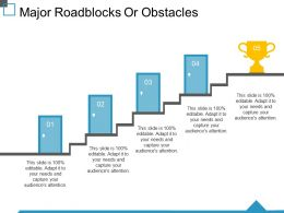 Major Roadblocks Or Obstacles Ppt Images