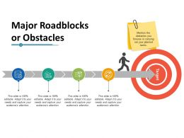 Major Roadblocks Or Obstacles Ppt Professional Graphics Download