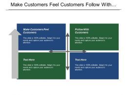 Make Customers Feel Customers Follow With Customers Cone Experience