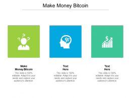Make Money Bitcoin Ppt Powerpoint Presentation Model Background Cpb