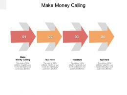 Make Money Calling Ppt Powerpoint Presentation Pictures Summary Cpb