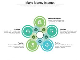 Make Money Internet Ppt Powerpoint Presentation Gallery Summary Cpb