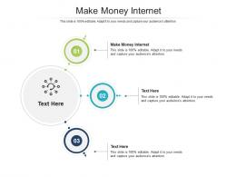 Make Money Internet Ppt Powerpoint Presentation Templates Cpb