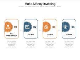 Make Money Investing Ppt Powerpoint Presentation Styles Infographic Template Cpb