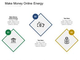 Make Money Online Energy Ppt Powerpoint Presentation Gallery Layouts Cpb