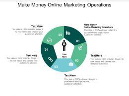Make Money Online Marketing Operations Ppt Powerpoint Presentation Gallery Model Cpb