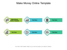 Make Money Online Template Ppt Powerpoint Presentation Pictures Maker Cpb
