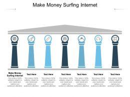 Make Money Surfing Internet Ppt Powerpoint Presentation Model Ideas Cpb