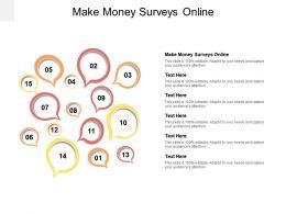 Make Money Surveys Online Ppt Powerpoint Presentation Styles Visuals Cpb