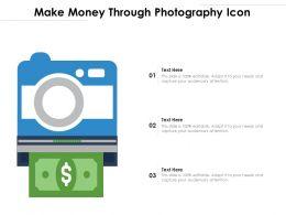 Make Money Through Photography Icon