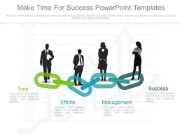Make Time For Success Powerpoint Templates