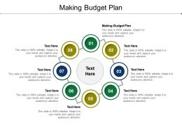Making Budget Plan Ppt Powerpoint Presentation Pictures Format Ideas Cpb