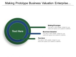 Making Prototype Business Valuation Enterprise Resource Planning Productivity Life Cpb