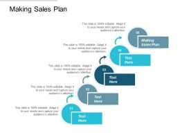 Making Sales Plan Ppt Powerpoint Presentation Pictures Graphics Design Cpb