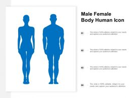 Male Female Body Human Icon