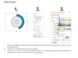 Male Female Gender Ratio Comparison Infographic Ppt Slide