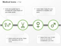 Male Female Scissor Symbols Ppt Icons Graphics