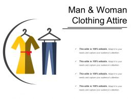 Man And Woman Clothing Attire