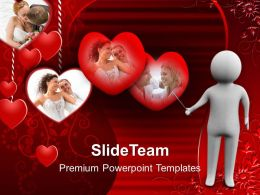 Man Explaining The Love PowerPoint Templates PPT Themes And Graphics 0213
