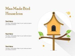Man Made Bird House Icon