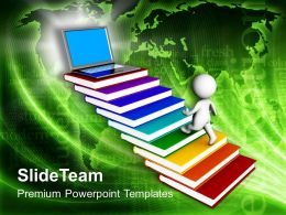 man_on_books_reaching_laptop_powerpoint_templates_ppt_themes_and_graphics_0213_Slide01