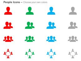 Man Teamwork Network Of People Ppt Icons Graphics