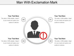 Man With Exclamation Mark