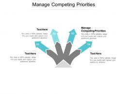 Manage Competing Priorities Ppt Powerpoint Presentation Summary Format Cpb