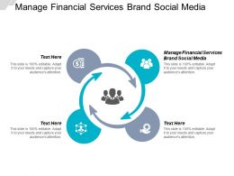 Manage Financial Services Brand Social Media Ppt Powerpoint Presentation Cpb